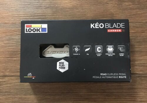 Look Cycle Keo Blade Carbon Ti Ceramic Pedals