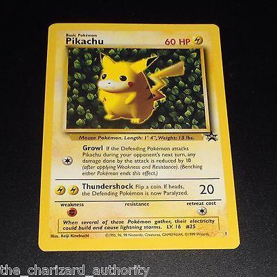 "Pikachu # 1 ""IVY"" Black Star Promo WOTC Rare NEAR MINT Pokemon Card"