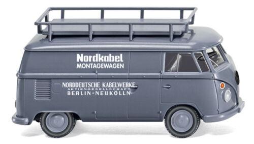 Wiking 079715-1//87 VW t1 cassetta AUTO-NUOVO