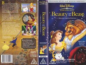 BEAUTY-AND-THE-BEAST-WALT-DISNEY-VIDEO-PAL-VHS-A-RARE-FIND-MINT-SEALED