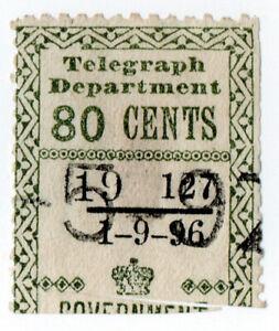 I-B-Ceylon-Telegraphs-Provisional-80c-1896