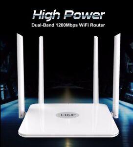 CONNEX-1200mbps-Wlan-WiFi-Router-Wireless-802-11ac-5ghz-high-power-range