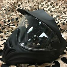 NEW Empire Invert Helix Paintball Goggle Mask w/ Single Anti-Fog Lens - Black