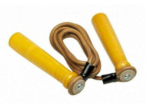 Deluxe Leather Boxing Training  8 9 10 11 ft Pro Box Skipping Rope