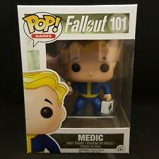 Fallout Vault Boy Medic Perk POP POP Funko Exclusive