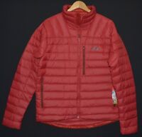 The North Face Men's Morph 800 Goose Fill Down Cardinal Red Jacket M