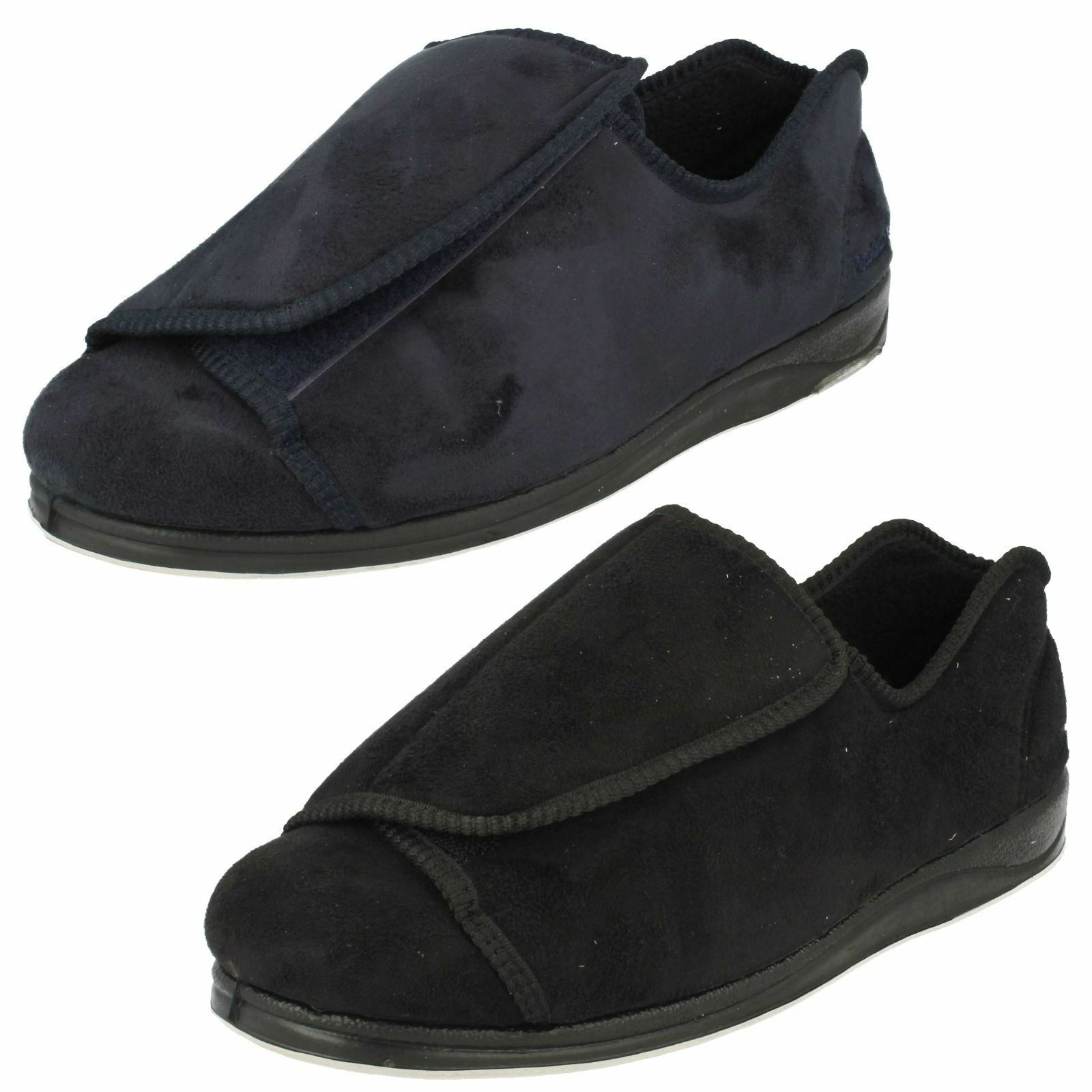 Mens Padders Peter Extra Wide Fitting Slippers