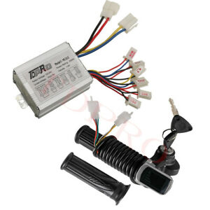 Throttle For Scooter Electric Bike Razor 24V 250W Brush Motor Speed Controller