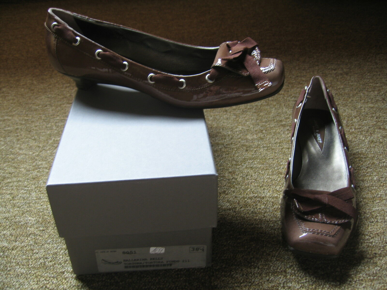 JANET & JANET  Schuhe Ballerina Kelly  -  Neu !!!