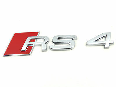 NEW GENUINE AUDI RS4 REAR BOOTLID RS4 INSCRIPTION 8D9853740 2ZZ