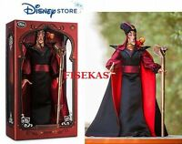Disney Store Villain Jafar Limited Edition 2500 Collector 17  Doll 2015