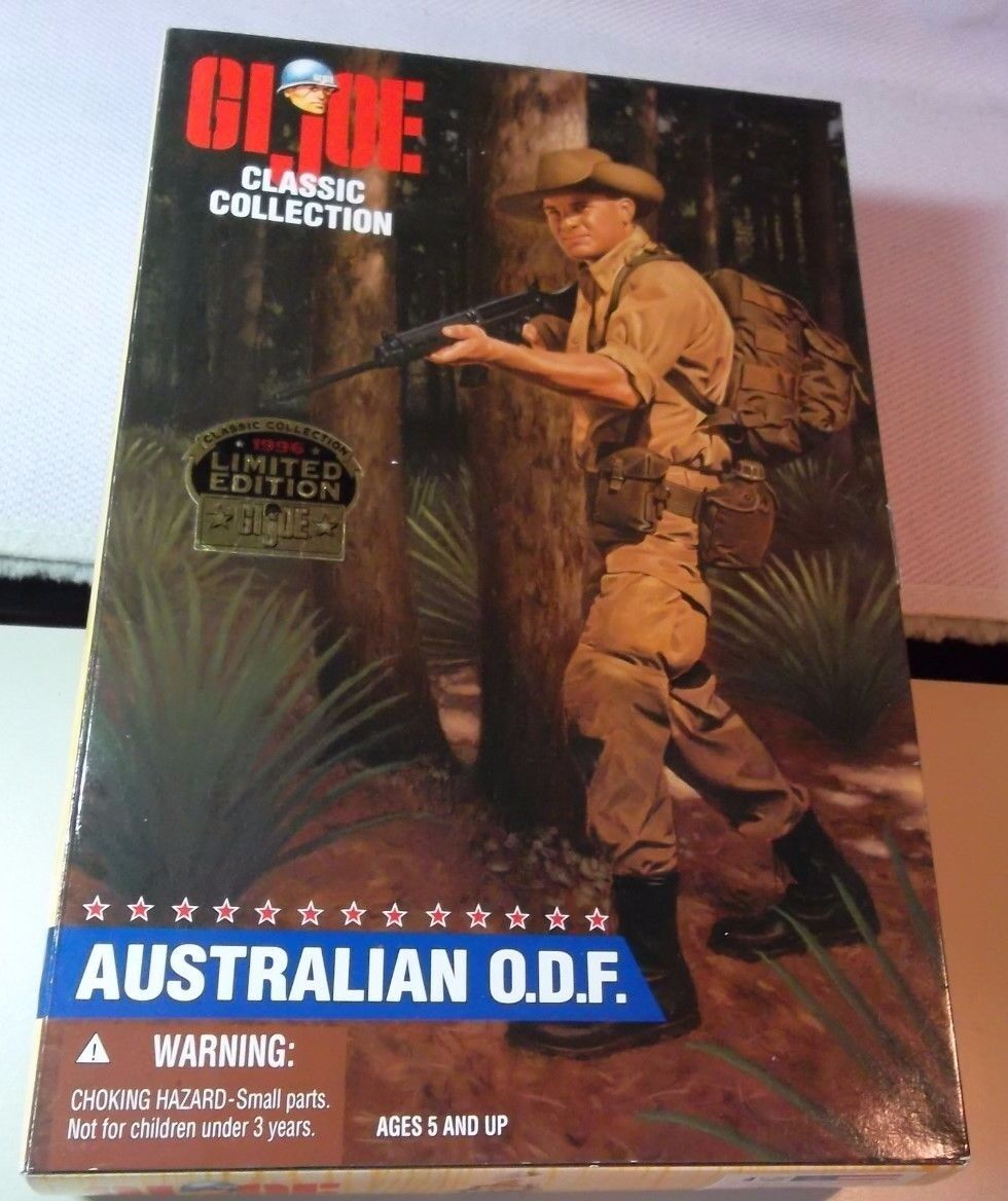 GI JOE CLASSIC COLLECTION  1996 HASBRO  Ltd. 12  AUSTRALIAN O.D.F. Action Figure