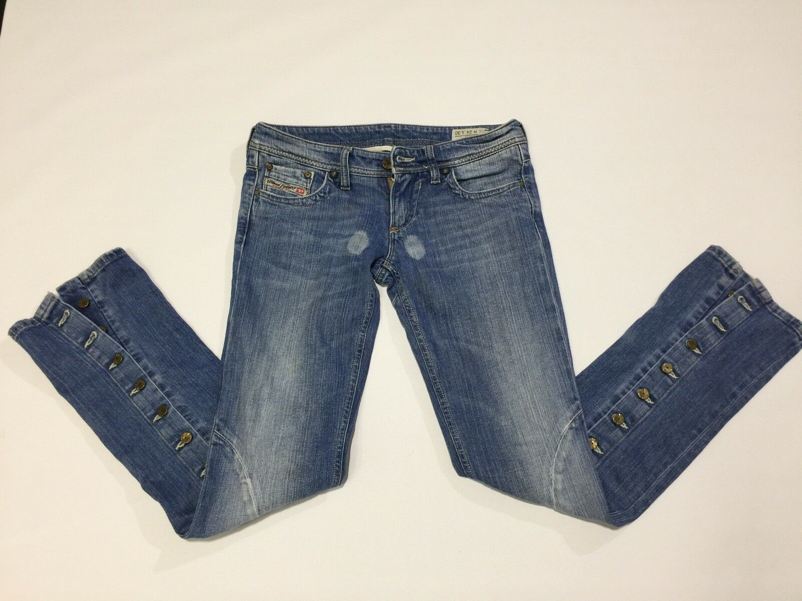 Diesel femmes Jeans Taille 24 Straight Leg  Made In