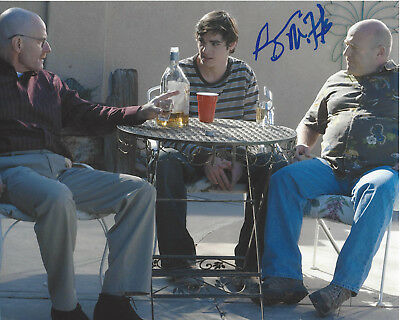 Dedicated Rj Mitte Signed Authentic 'breaking Bad' Walt Jr/flynn 8x10 Photo W/coa Proof Customers First Autographs-original