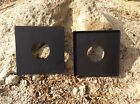 3 SET 4x5 Graflex Speed Graphic NEW Copal #0 #1 and custom size Lens Board HQ