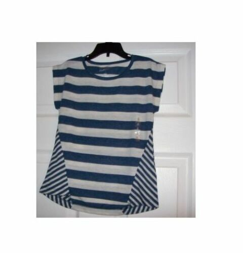 ARIZONA NAVY AND WHITE STRIPED SHIRT MULTIPLE SIZES ONE STYLE NEW WITH TAGS