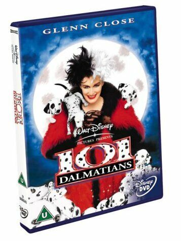 101 Dalmatians 1996 Dvd Disney Glenn Close For Sale Online Ebay