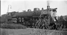 7C968 NEGATIVE RP 1930s CB&Q BURLINGTON RAILROAD ENGINE #7019