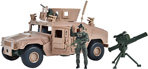 Elite Force 1//18Scale Military M1114 Up Armored Humvee Vehicle Action Figure Toy