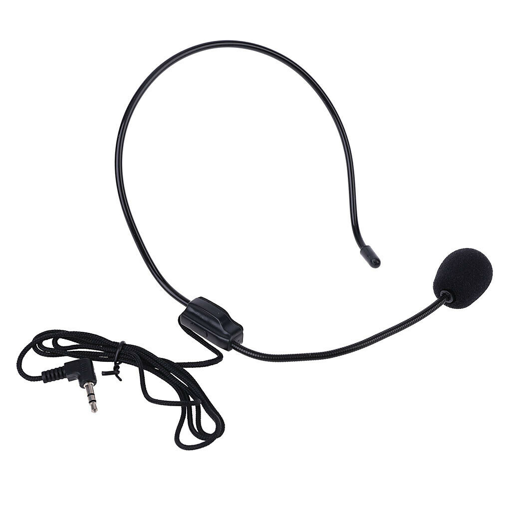 Mini Wearing A Wire Microphone Mic Clip Megaphone Headset For Lectures TeacP XXJ