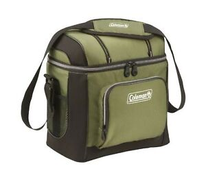 Coleman 16-Can Soft Cooler with Removable Liner Green