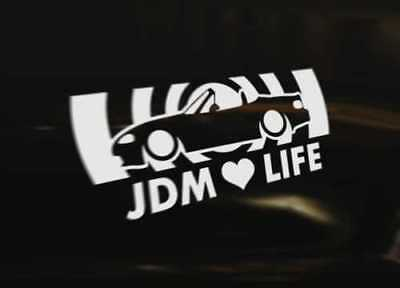 MAZDA MX5 MIATA EUNOS JDM LIFE Decal Sticker Graphic