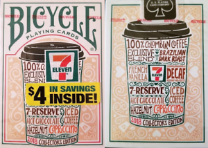 Bicycle-7-Eleven-Playing-Cards-2018-4-in-Savings-Edition-SEALED