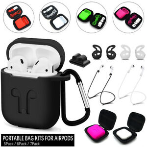 Travel Bag Storage Case Kits For Apple Airpods Accessories Silicone Airpod Cover Ebay