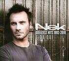 Nek Greatest Hits 1992-2010: E Da Qui by Nek (Filippo Neviani) (CD, Nov-2010, 2 Discs, WB Records)
