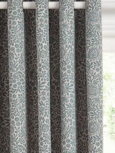John-Lewis-Hidcote-Weave-Pair-Lined-Eyelet-Curtains-228-x-274cm-Teal-A