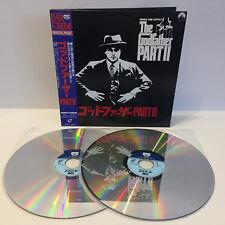 The Godfather Part II | Der Pate 2 | Japan Laserdisc + OBI | 2 LD | Near Mint NM