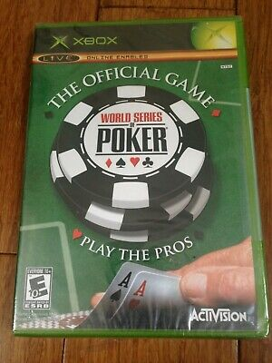 The Official Game World Series Of Poker - Microsoft Original Xbox Game - Ntsc