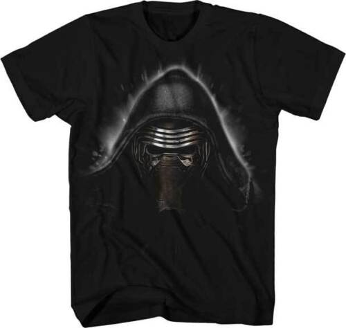 Evil Ren T-shirt Adult Size THE FORCE AWAKENS Mens Graphic Tee STAR WARS