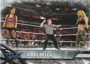 2017-Topps-Wwe-de-Mujer-Division-Mapas-Momments-WWE-15-Nikki-Bella