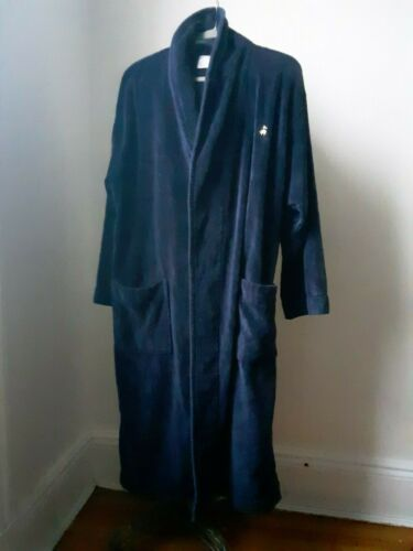 Brooks Brothers navy Terry robe! S/M Must Have