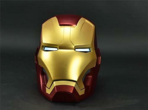Versión de Metal Remoto  cattoys 11 todo de metal hecho Iron Man MK42 casco Los Vengadores