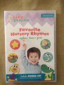 Image Is Loading Baby Genius Favorite Nursery Rhymes Dvd New Plus