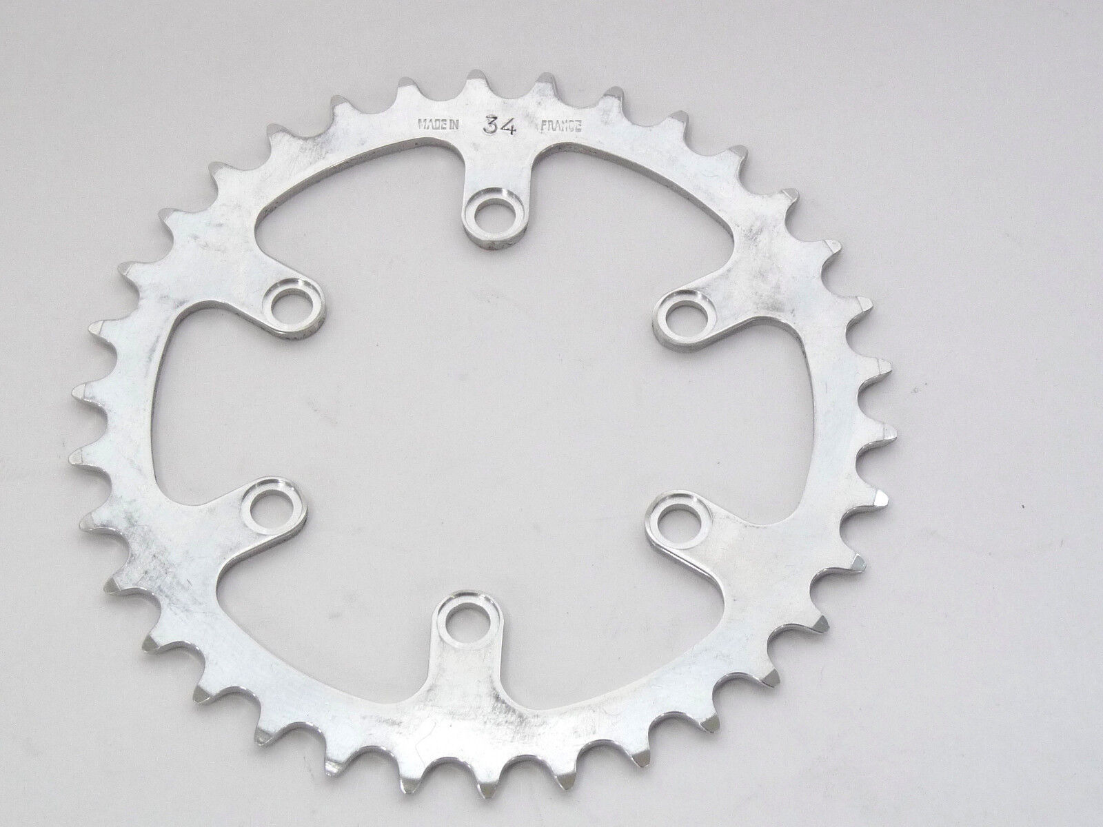T.A. Chainring 34T INNER Road 80 BCD TA REF2082 VINTAGE Road bike 3 32  NOS