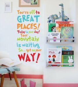Dr Seuss Wall Quote Sticker Nursery