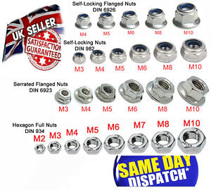 M2-M10-A2-Stainless-Metric-Full-Nuts-Serrated-Flange-Lock-Nut-Nyloc-Hex-Head