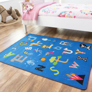 Letters Animals Play Mats Colourful