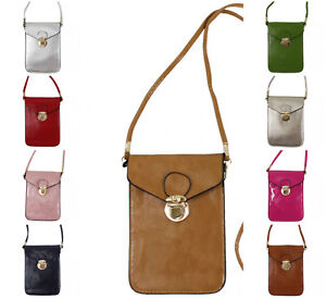 4de160836ccf New Girls Small Mini Cross Body Bags Cell Phone Pouch Women Purse