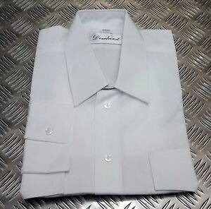 Britanico-Autentico-Police-Hmrc-039-Camiseta-Blanca-Old-Bill-Pasador-o-Manga