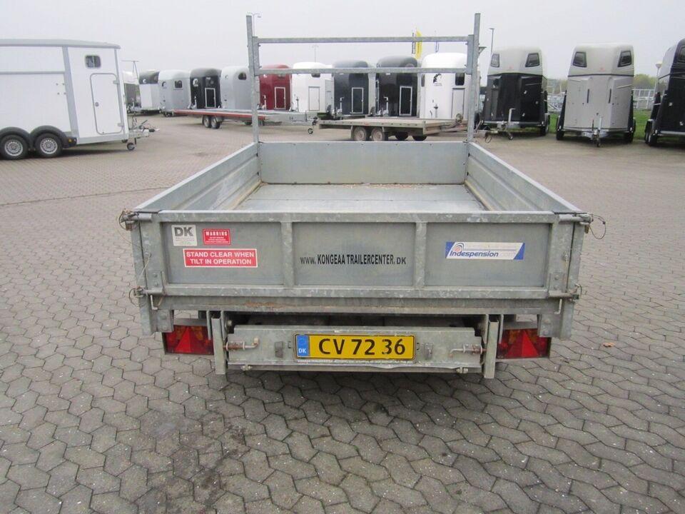 Trailer Indenspension -EL-TIP - 2600 kg., Skal ikke...,