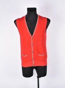 Tommy-Hilfiger-Gilet-Hommes-Pull-TAILLE-S