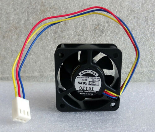 Elina 40mm x 20mm High Airflow Fan PC-Ready 40x20mm HDF4020L-12HHB Made In Japan