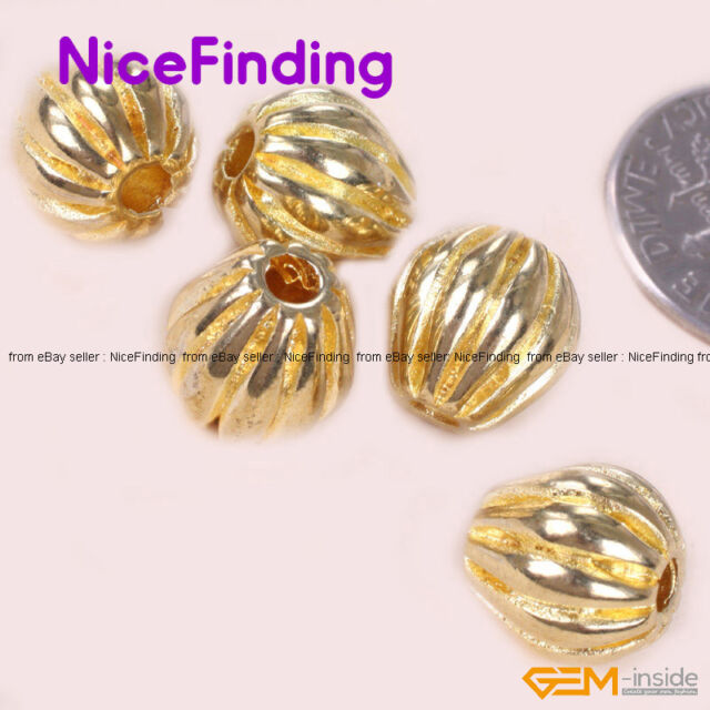 20 Pcs New Gold Plated Tibetan Silver Spacer beads Findings