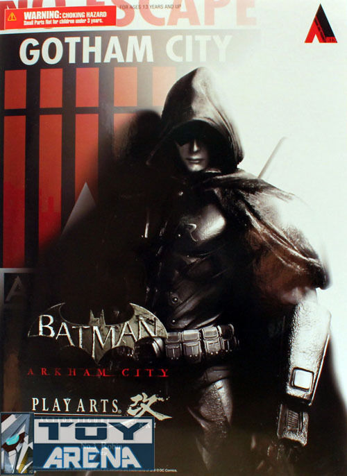 Batman Arkham Asylum Robin Play Arts Kai Action Figure Square Enix