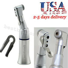 Dental Slow Low Speed Handpiece Contra Angle Latch Bur fit NSK E-type motor-USA