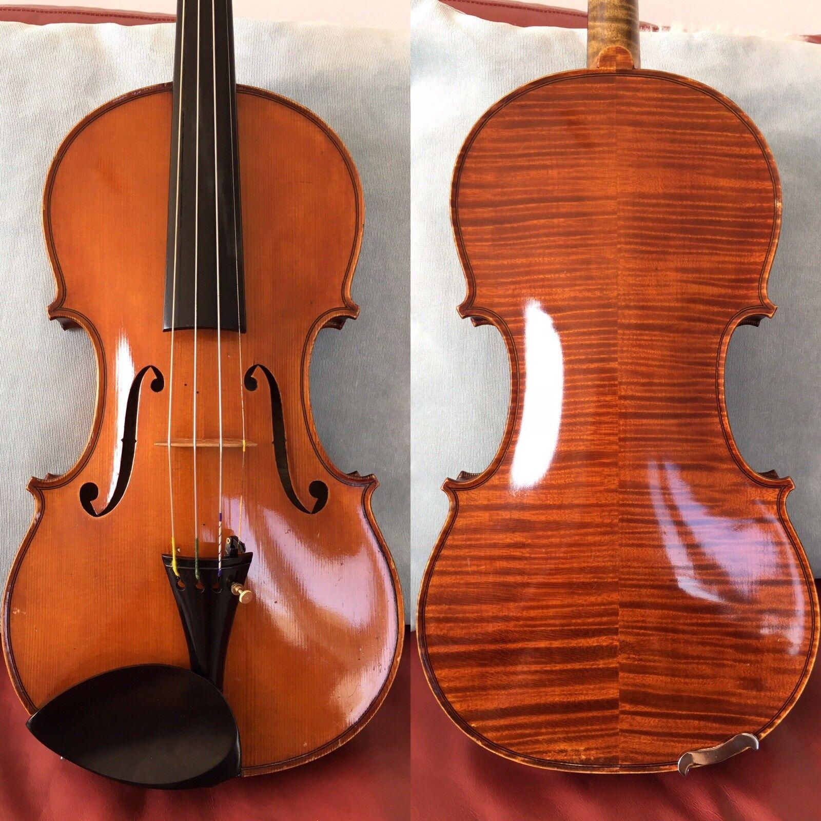 Un Fino violín francés antiguo antiguo antiguo etiquetado como  N. Audinot , posiblemente Collin-vida  ahorre 60% de descuento